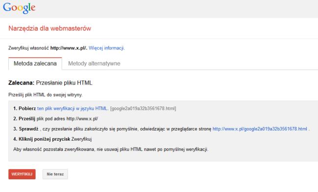 narzędzie dlawebmasterów google mobile